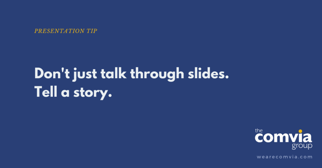 Don't Create Slides Until You Plan Your Story