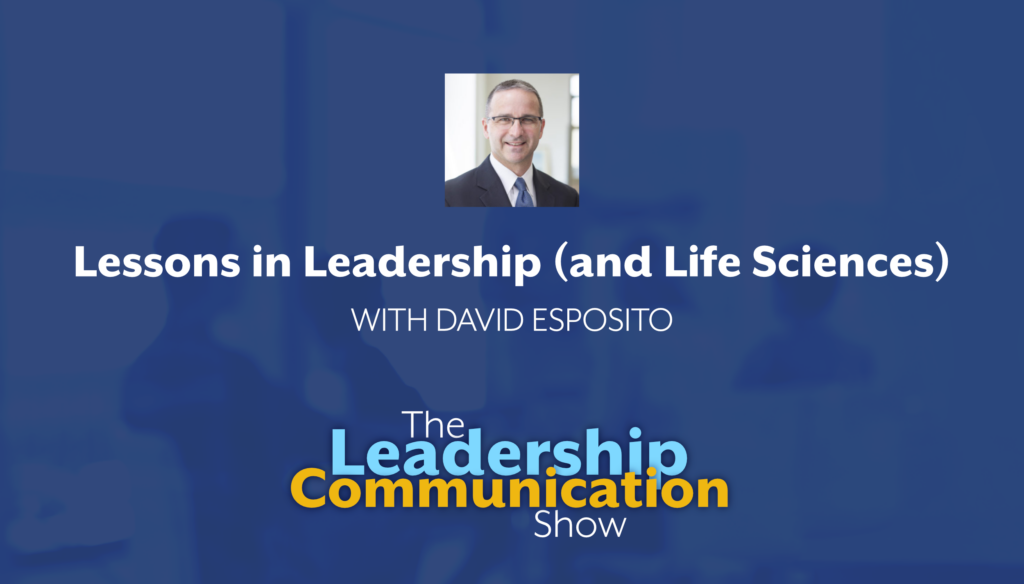 Lessons in Leadership and Life Sciences Podcast Episode Art